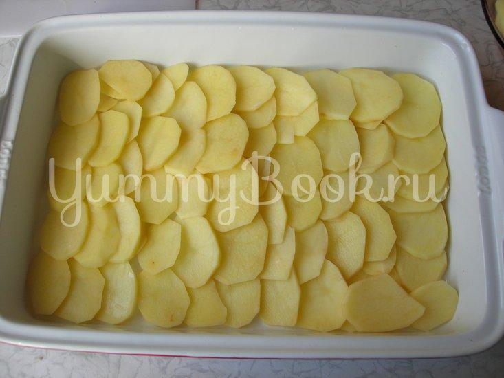 Картофельная запеканка с шампиньонами - шаг 5