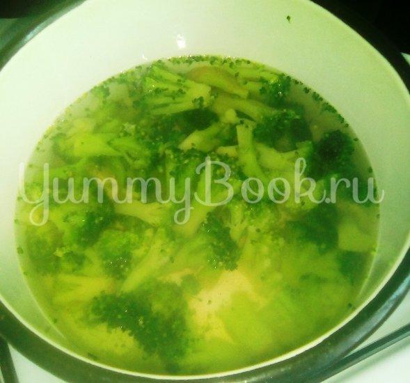 Запеканка из макарон с брокколи, стручковой фасолью и грибами - шаг 2