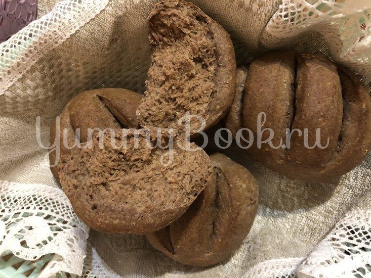 Пшенично-льняные булочки - шаг 4
