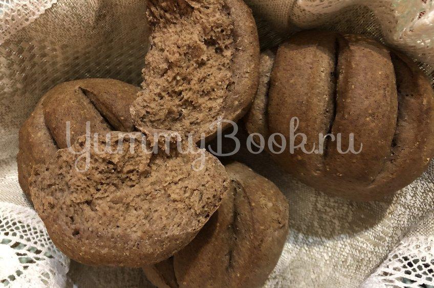 Пшенично-льняные булочки