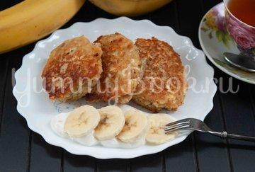 Банановые сырники с овсянкой - шаг 5