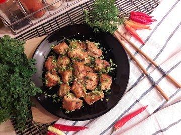 Куриное филе в томатно-соевом маринаде с мёдом