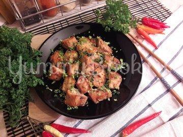 Куриное филе в томатно-соевом маринаде с мёдом - шаг 7