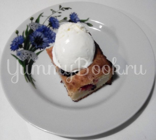 Нежный пирог со сливами - шаг 13