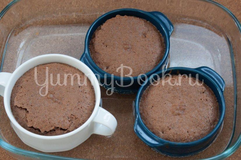 Шоколадный фондан - шаг 4