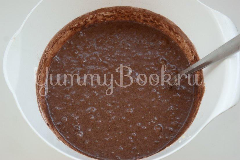 Шоколадный фондан - шаг 2