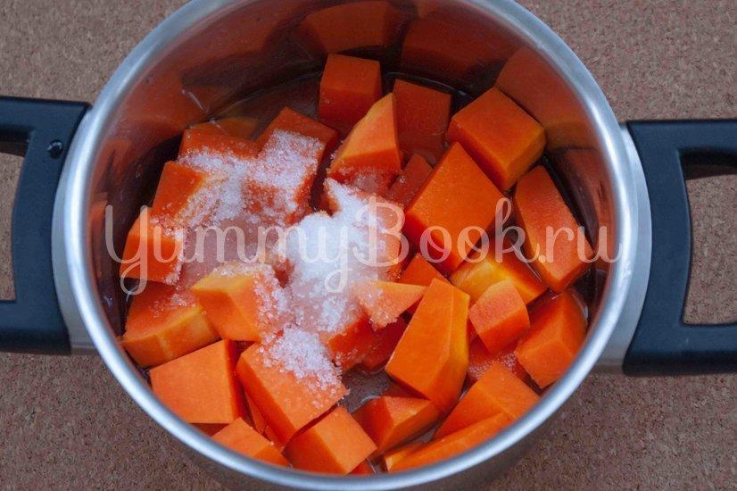 Сливочный десерт с тыквой - шаг 2