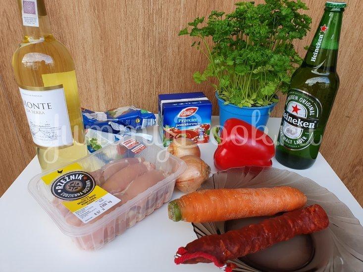 Картофельная запеканка с курицей и сыром - шаг 1