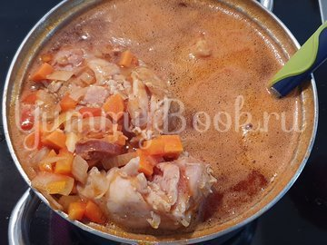 Картофельная запеканка с курицей и сыром - шаг 5