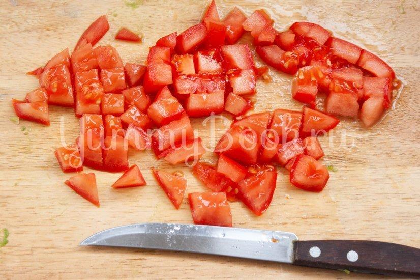 Салат с авокадо и помидором - шаг 3