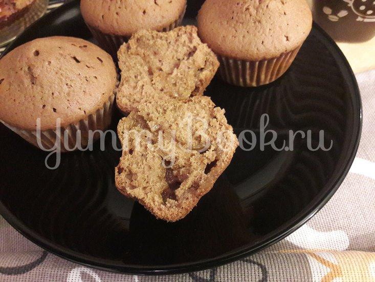 Кексы с начинкой из варёной сгущёнки - шаг 12