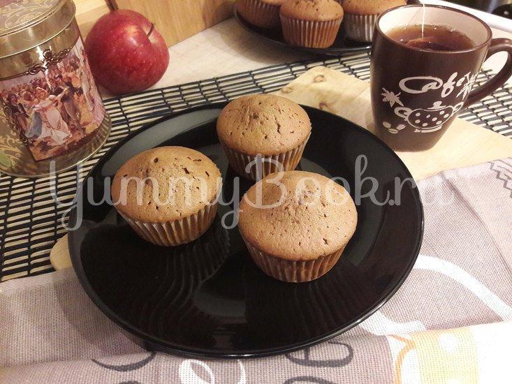 Кексы с начинкой из варёной сгущёнки - шаг 11