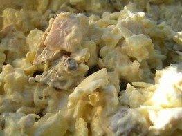 Салат Куриный с ананасом