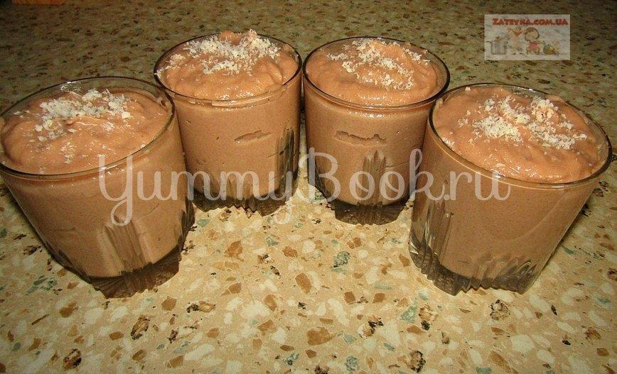 Шоколадный десерт без выпечки и желатина - шаг 6