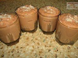 Шоколадный десерт без выпечки и желатина