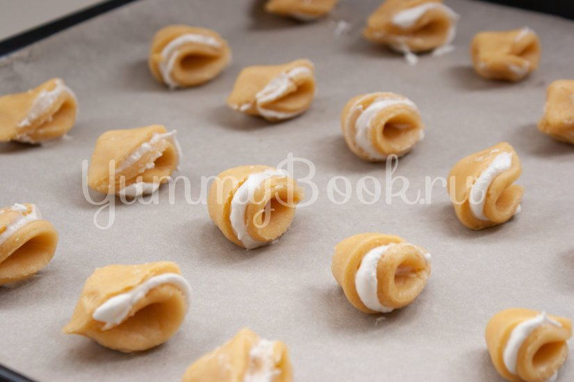 """Песочное печенье """"Ракушки"""" - шаг 11"""