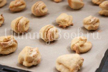 """Песочное печенье """"Ракушки"""" - шаг 12"""