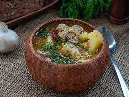 Немецкий суп Айнтопф (Eintopf)