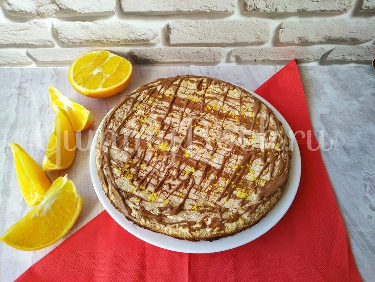 Торт безе с орехами и крекером  - шаг 7