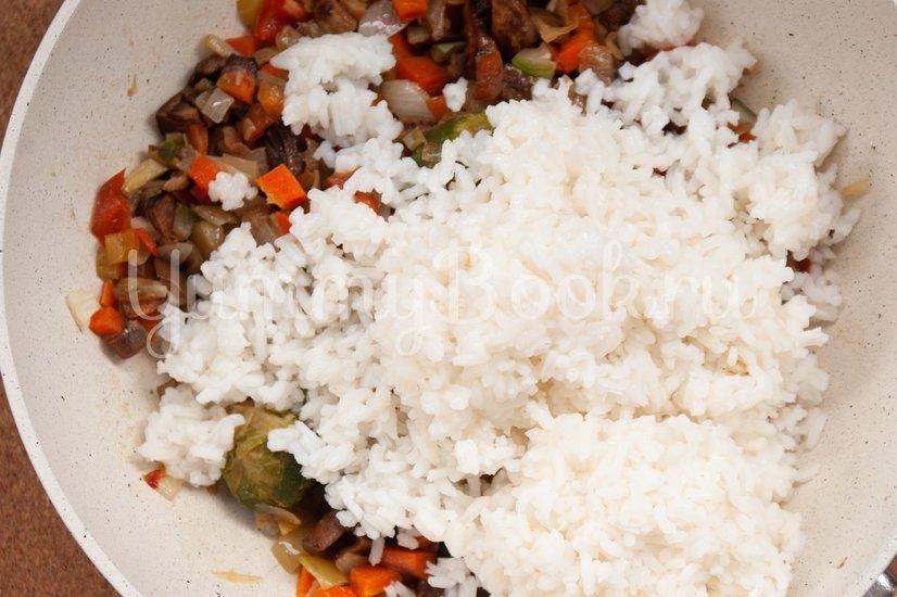 Жареный рис с овощами - шаг 3