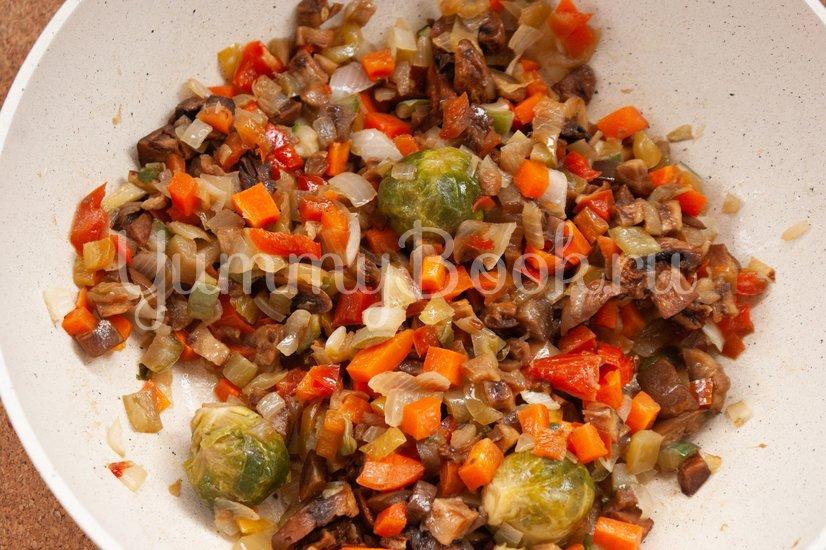 Жареный рис с овощами - шаг 2