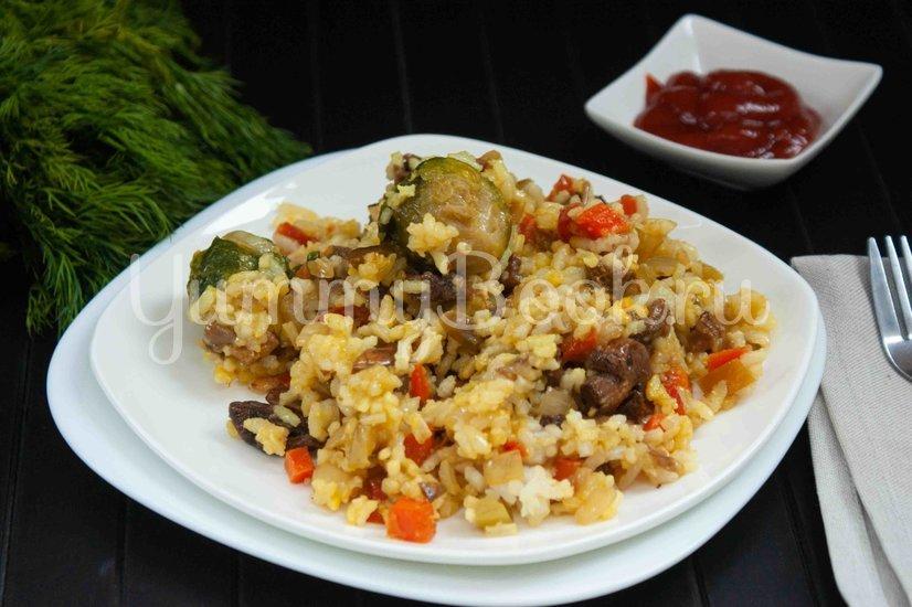 Жареный рис с овощами - шаг 5