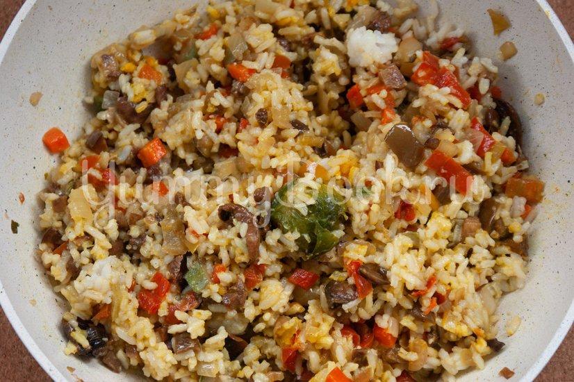 Жареный рис с овощами - шаг 4