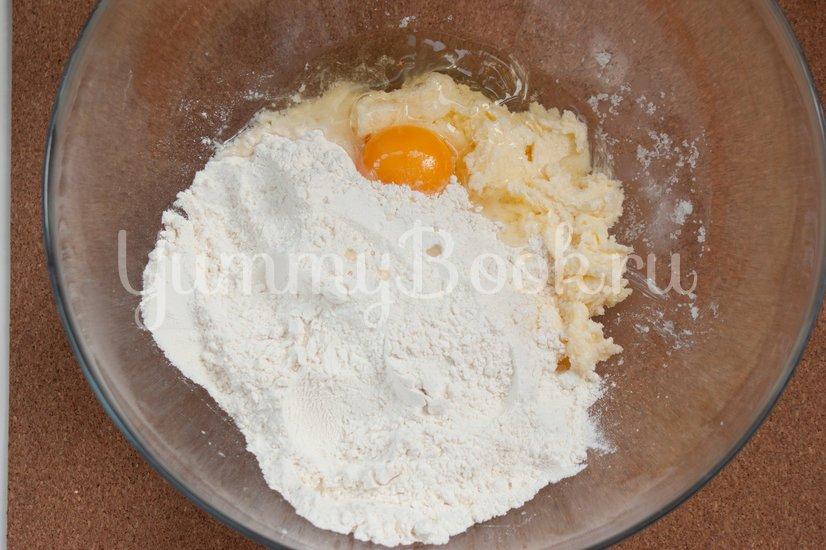 Молочный тарт - шаг 2