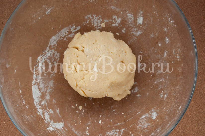 Молочный тарт - шаг 3