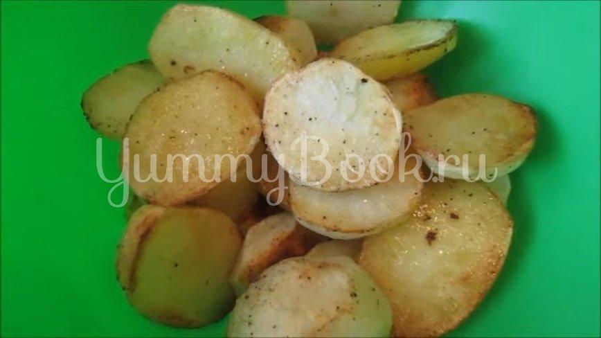 Курица, запеченная с картофелем в духовке - шаг 3