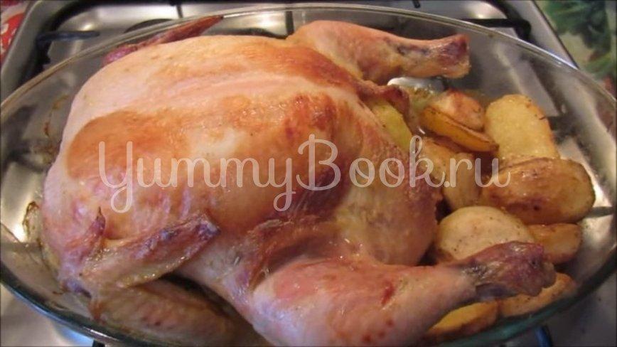Курица, запеченная с картофелем в духовке - шаг 5