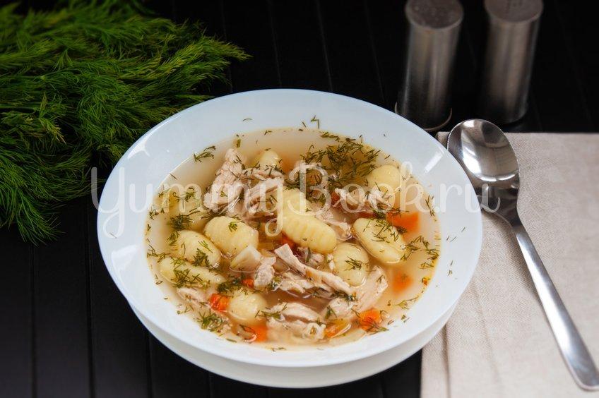 Куриный суп с ньокками