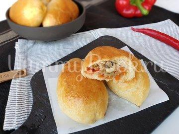 Пирожки с тунцом и овощами - шаг 11