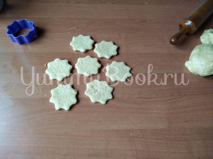 Апельсиновое печенье с миндалем - шаг 5