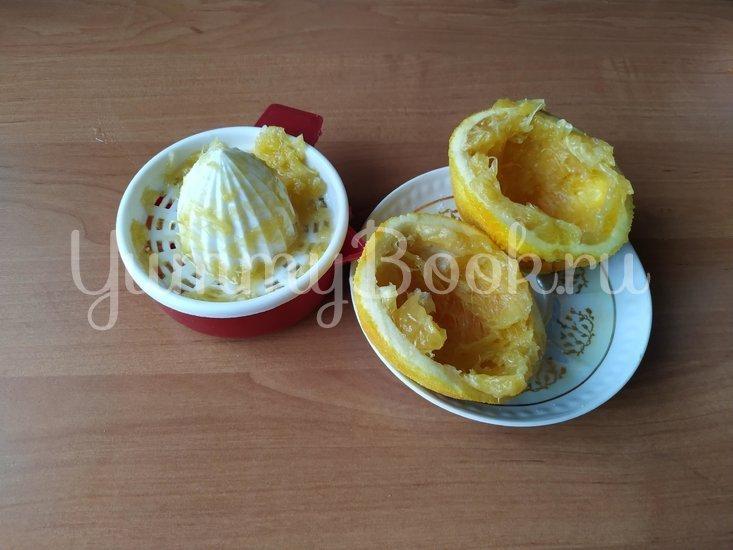 Апельсиновое печенье с миндалем - шаг 3