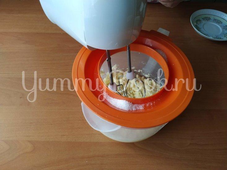 Апельсиновое печенье с миндалем - шаг 1