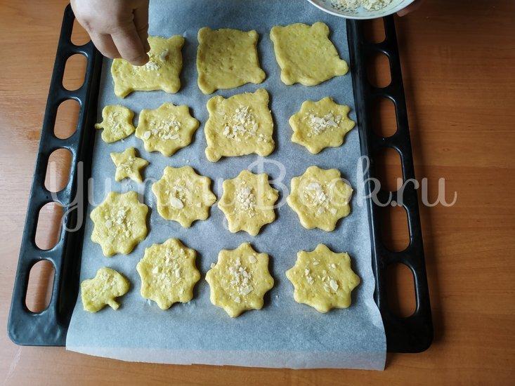 Апельсиновое печенье с миндалем - шаг 6