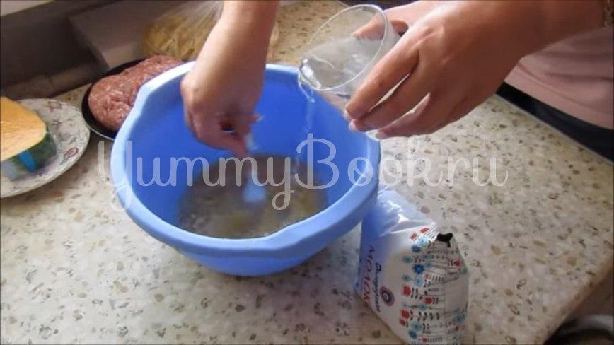 Макароны с мясными фрикадельками в духовке  - шаг 2