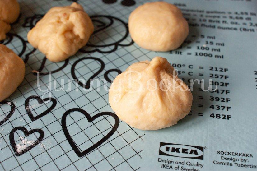 Пончики с клубничным джемом - шаг 9