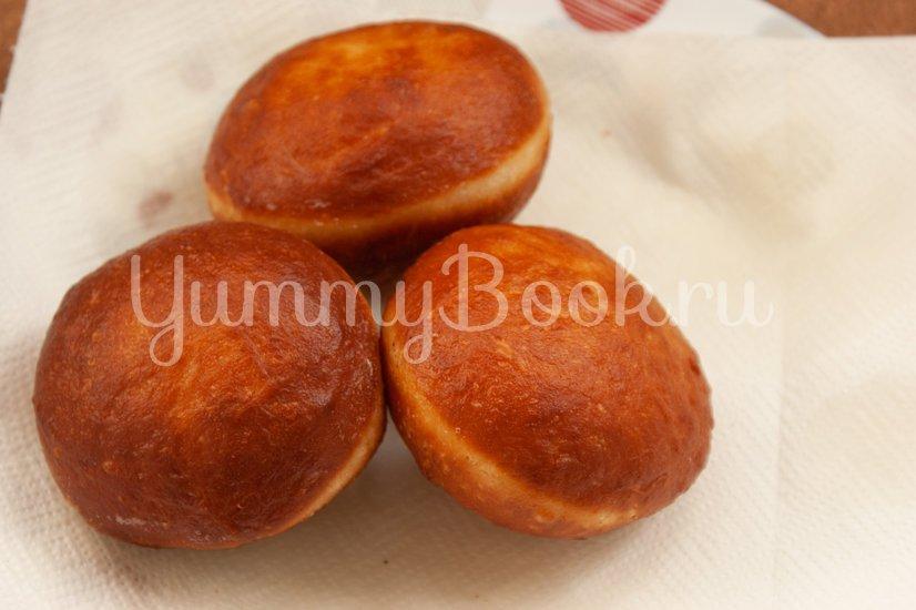 Пончики с клубничным джемом - шаг 13