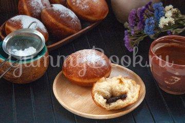 Пончики с клубничным джемом - шаг 14