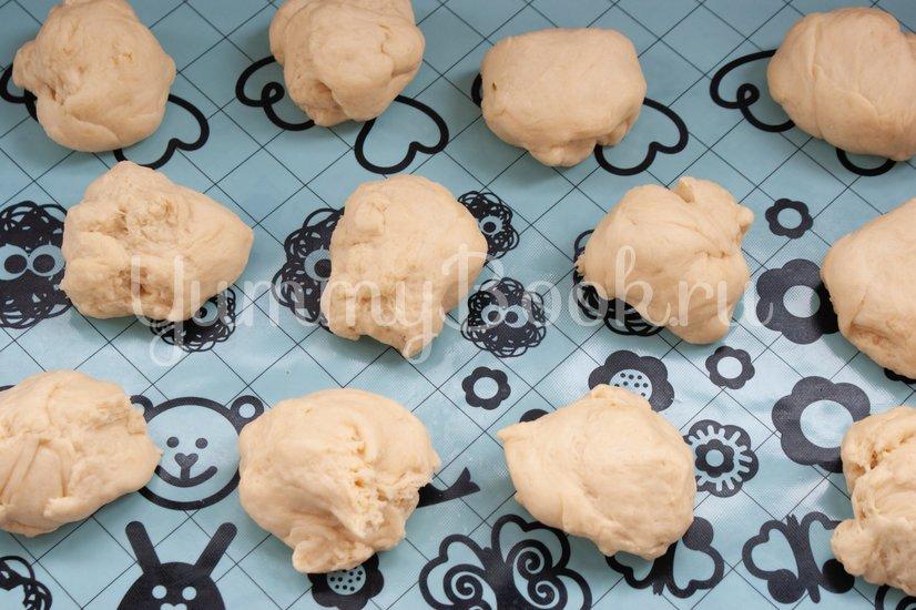 Пирожки с тыквой и чечевицей - шаг 7