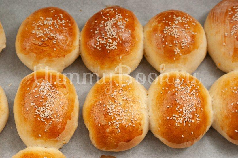 Пирожки с тыквой и чечевицей - шаг 11