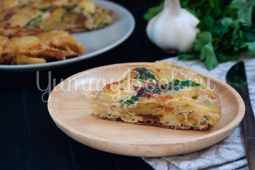 Картофельная тортилья - шаг 9
