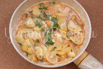 Картофельная тортилья - шаг 6