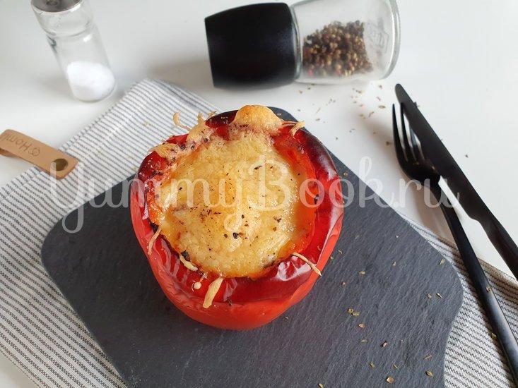 Запеченный перец с картофелем и тунцом - шаг 12