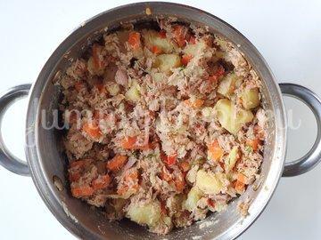 Запеченный перец с картофелем и тунцом - шаг 8