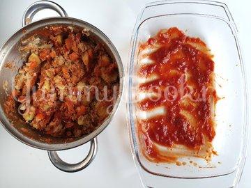 Запеченный перец с картофелем и тунцом - шаг 9