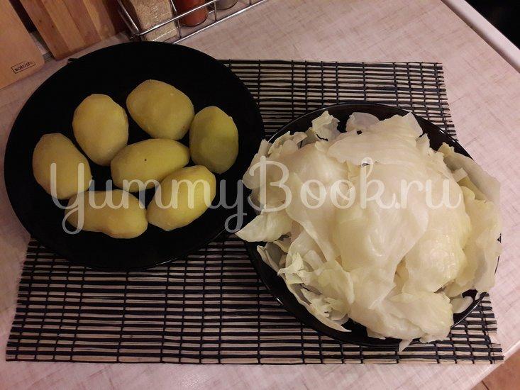 Капустно-картофельные котлеты - шаг 3