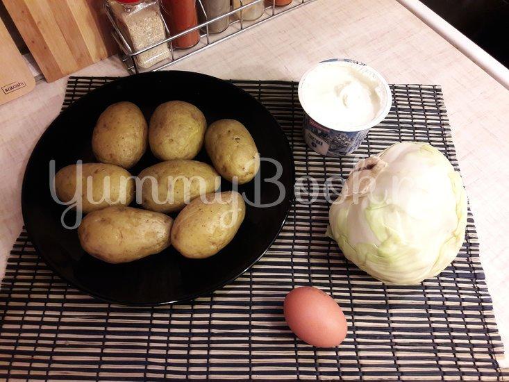 Капустно-картофельные котлеты - шаг 1